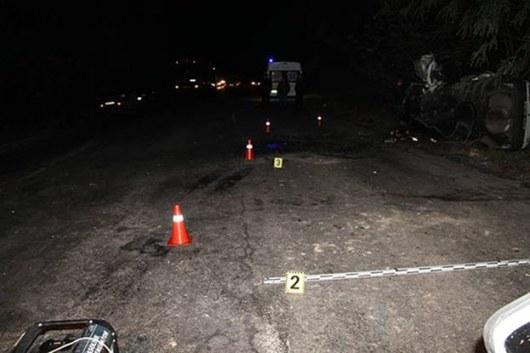 ВВинницкой области в итоге ДТП погибли два человека